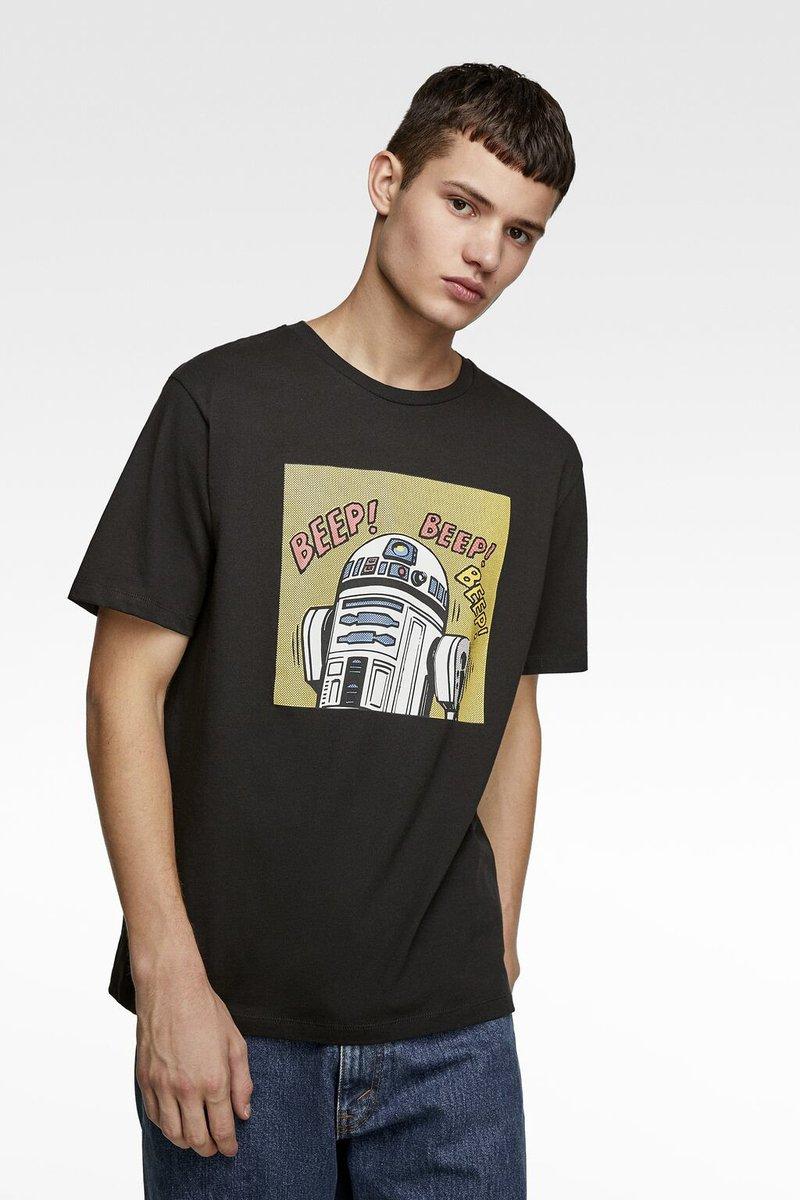 ザラが映画「スターウォーズ」とコラボ。BB-8やダース・ベイダー、ストームトルーパーなどをあしらったアイテムを販売しています。
