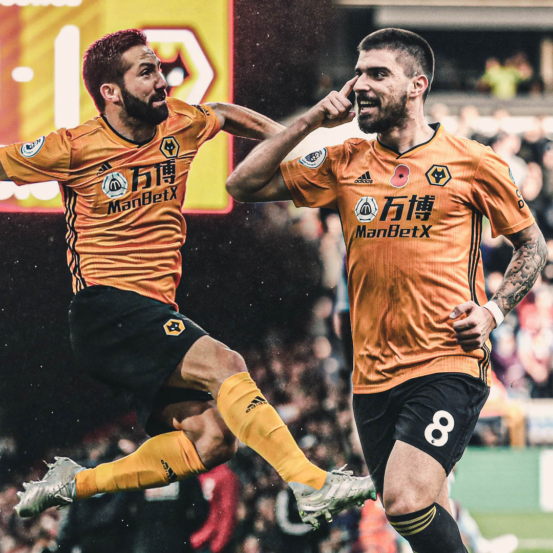 Both Joao Moutinho and Ruben Neves have made the shortlist for the @PremierLeague Goal of the Month!  🇵🇹🚀