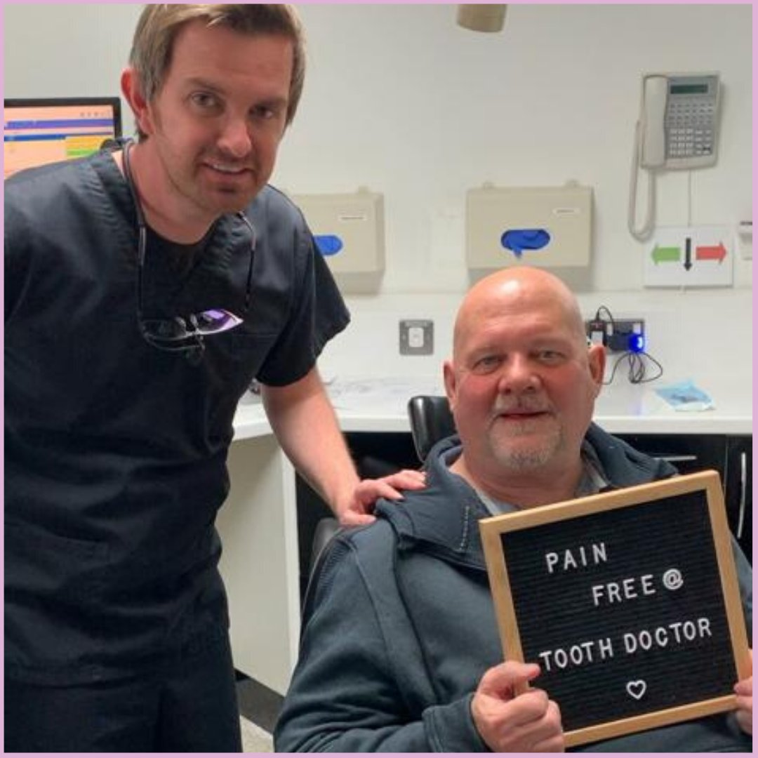 Here at the Tooth Doctor we #PROMISE you #PAINFREE Dentistry! For more information or to book your PAIN FREE appointment please call us on 01555 770907