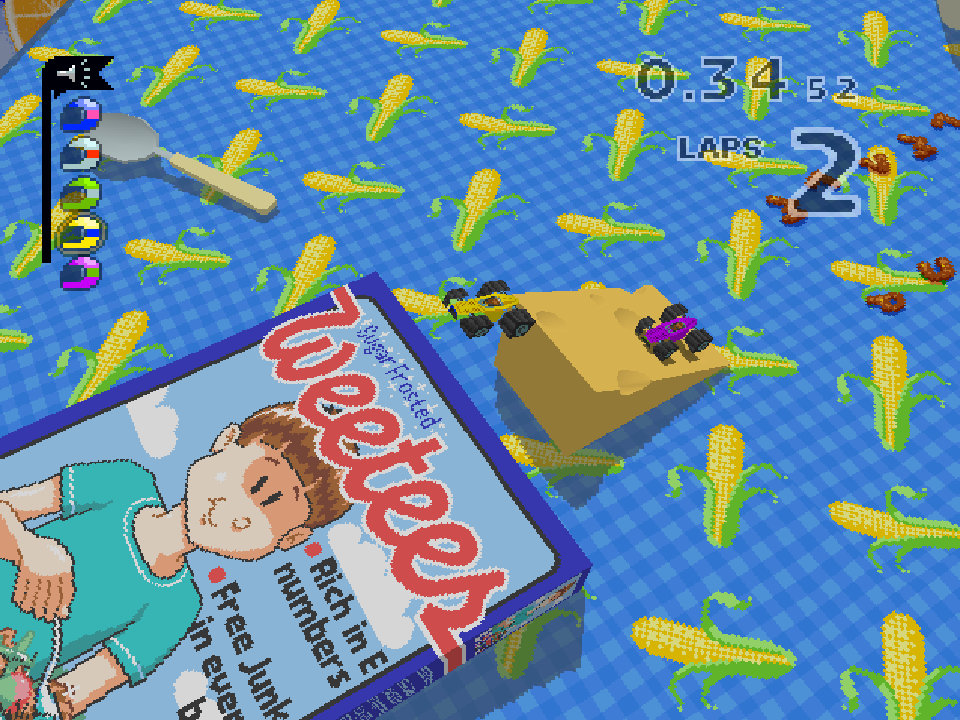 Over on @techradar, Micro Machines V3 has been featured as a part of their Favourite PlayStation Memories. ✨ Who remembers whipping out a couple Multitaps for some 8-player action on the original PlayStation? buff.ly/34PimtM