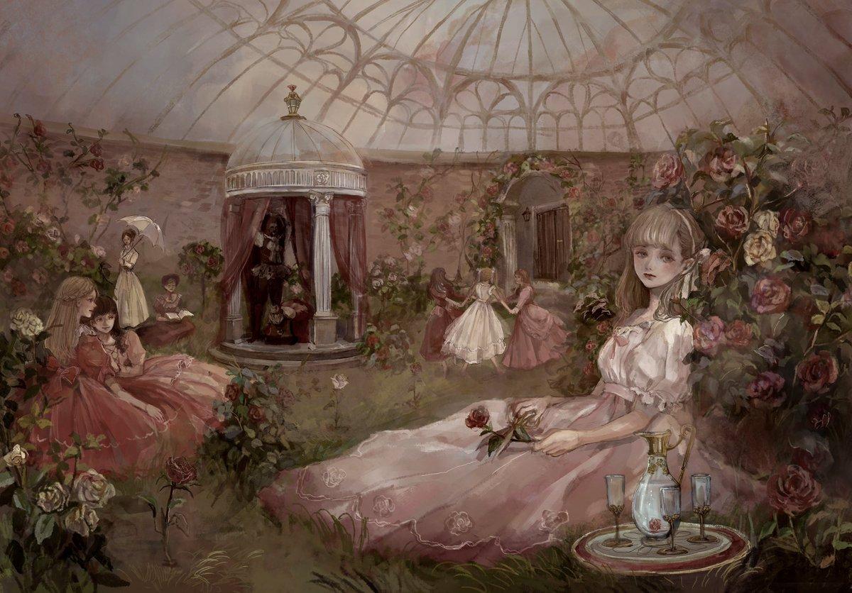 隠された薔薇園