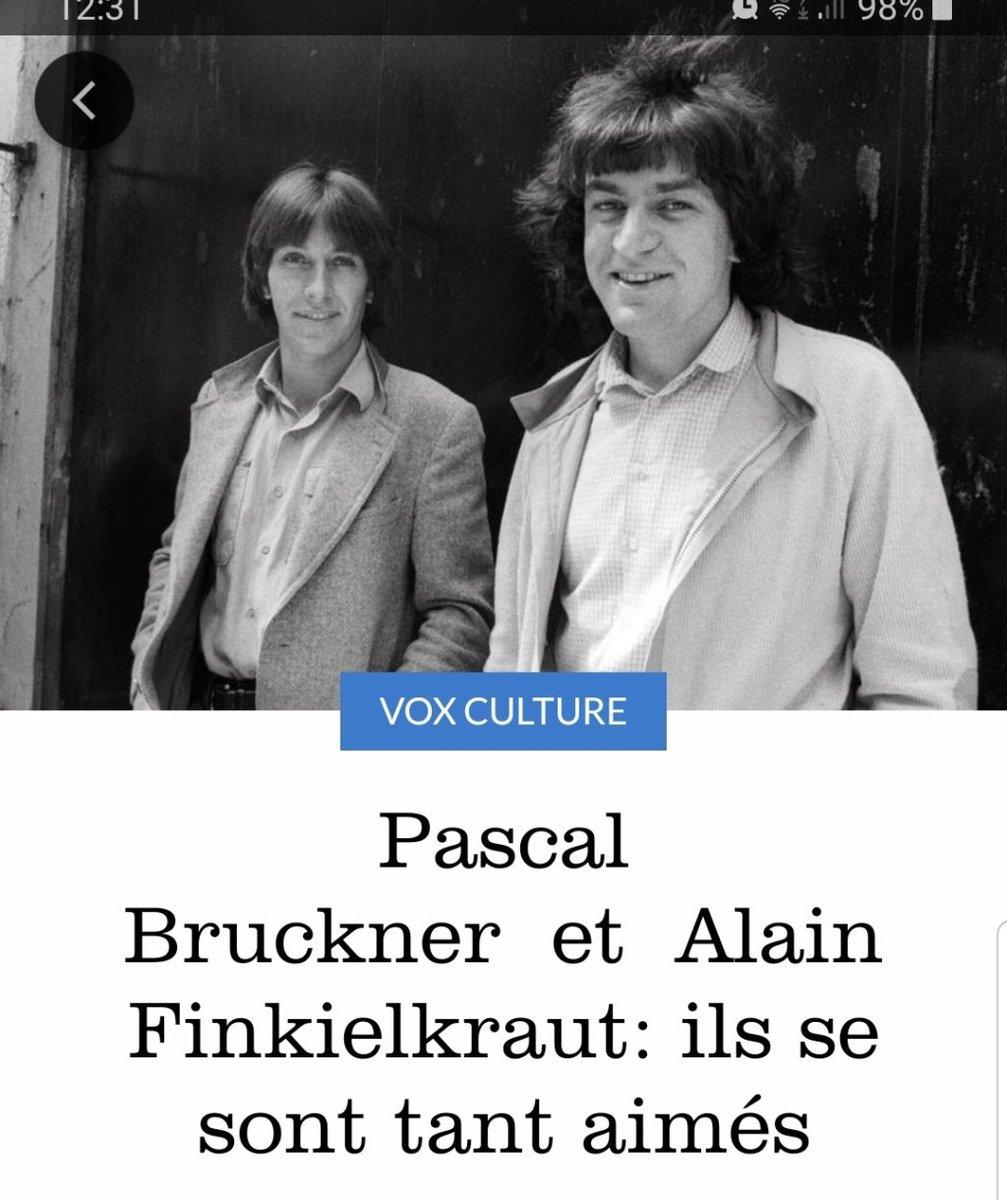 Pascal #BruckneretAlain #Finkielkraut: ils se sont tant aimés https://cvitrolles.wordpress.com/2019/12/06/pascal-bruckner-et-alain-finkielkraut-ils-se-sont-tant-aimes/…