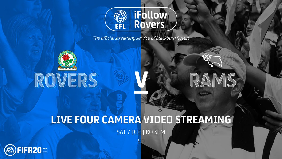 🌍 Cant make it tomorrow? You can tune in to the match on iFollow! A match pass is available to overseas supporters for just £5, whilst an audio pass for fans based in the UK & Ireland is available for £2.50! Buy now: ➡️ rovers.co.uk/ifollow/subscr… #Rovers 🔵⚪️