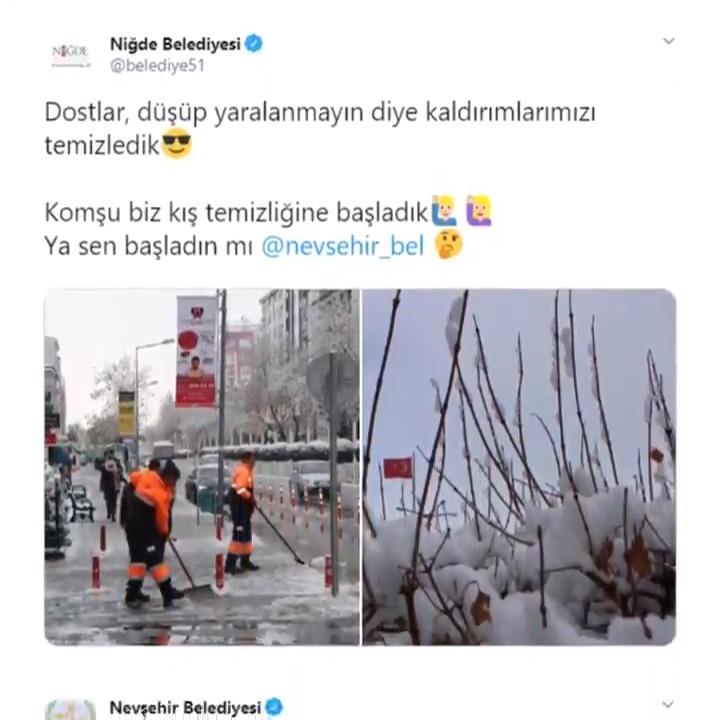 AK Belediyeler kışa hazır 🚜❄