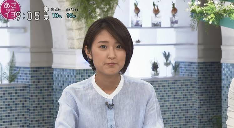 近江 アナ 髪型