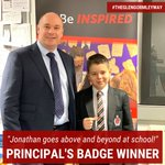 Image for the Tweet beginning: Jonathan McClean in Year 8