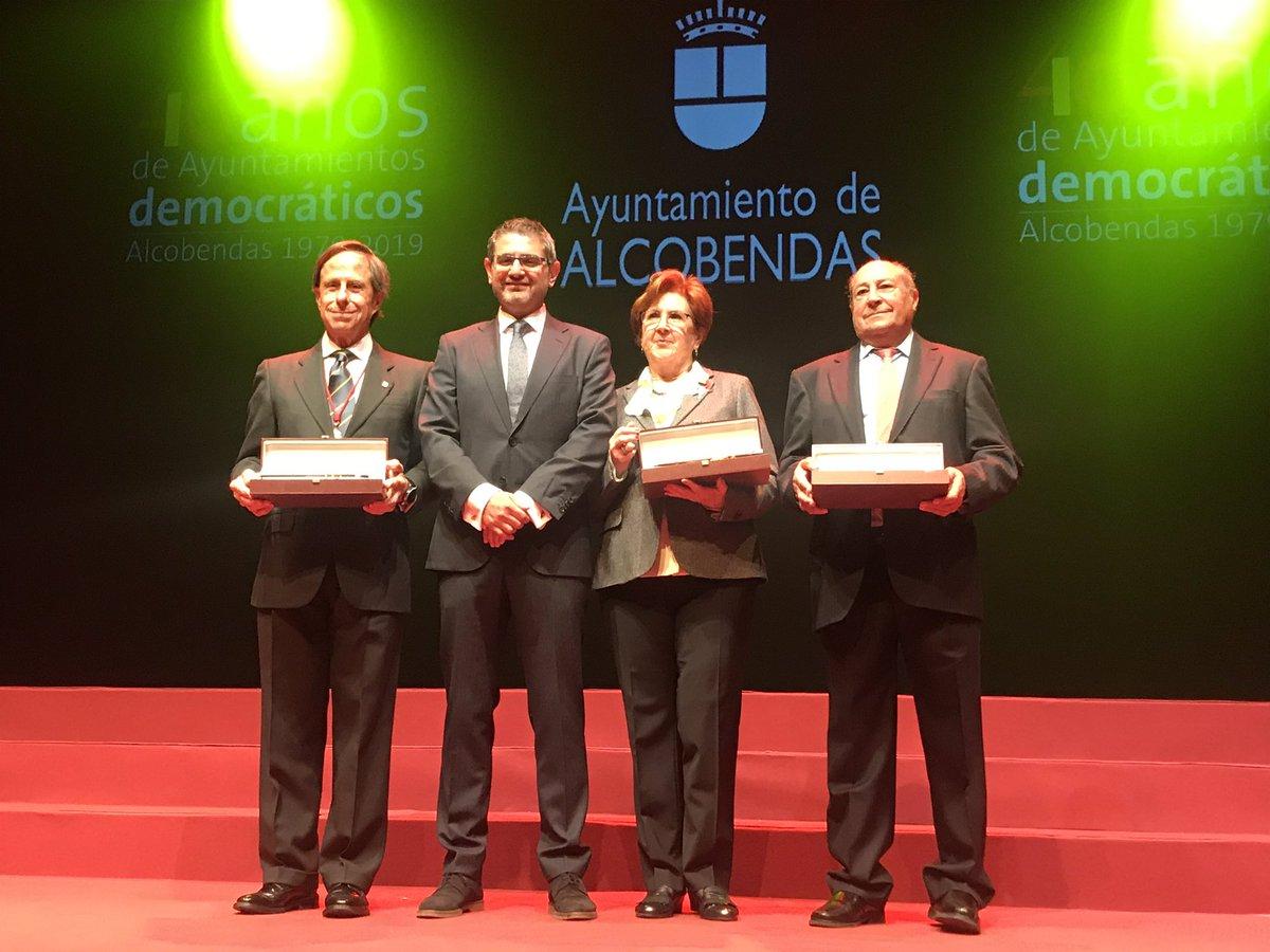 Tres grandes alcaldes democráticos han hecho posible la actual  posición destacada de #Alcobendas