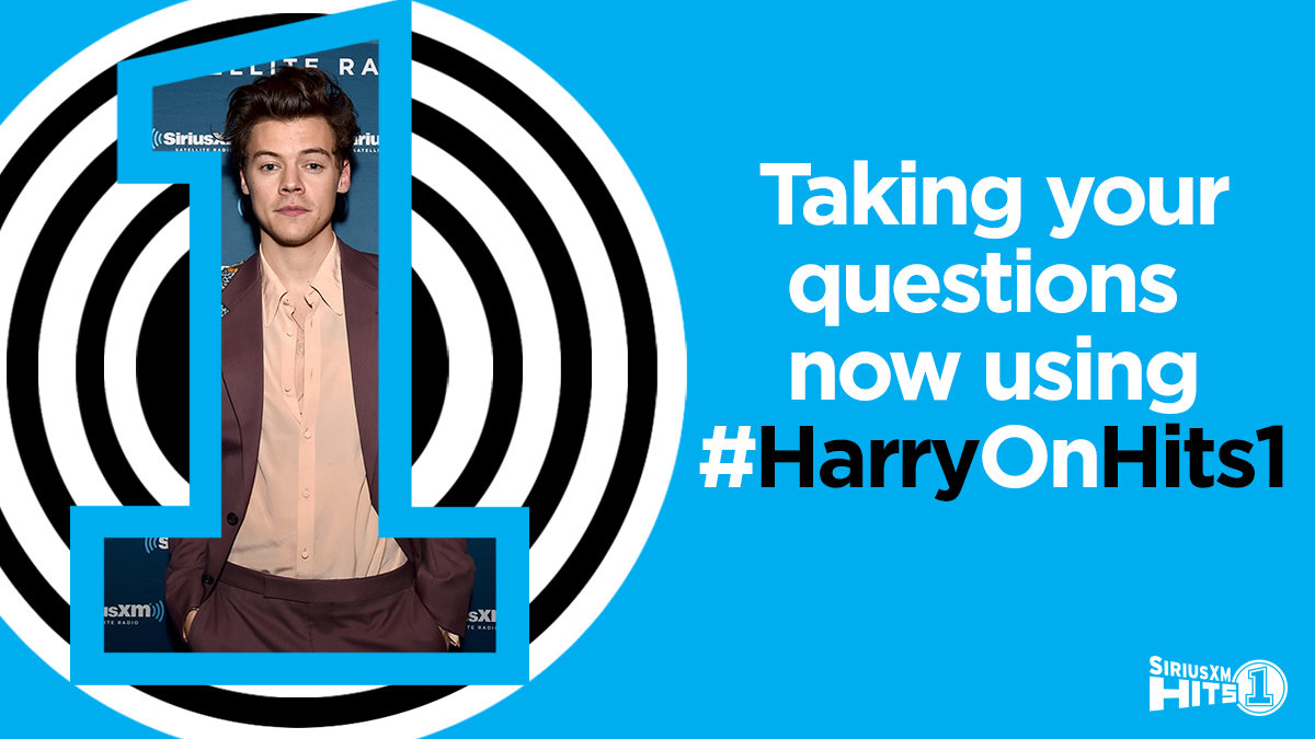 Expecting a FaceTime call from @Harry_Styles after 11am ET this morning! #HarryOnHits1 🎧 siriusxm.us/hits1 🎧 siriusxm.us/Hits1Trial