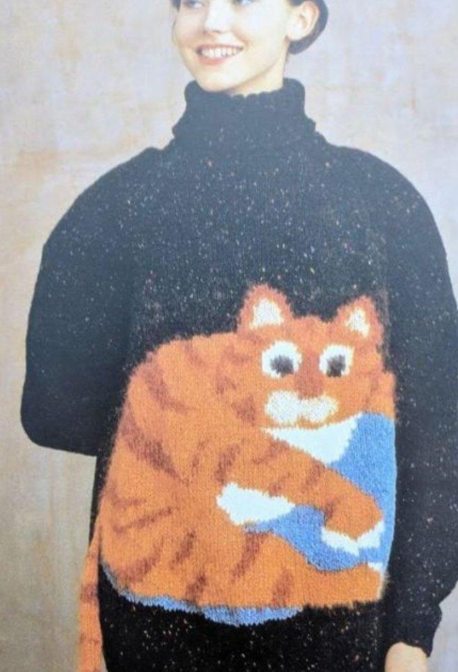 ねこのセーター