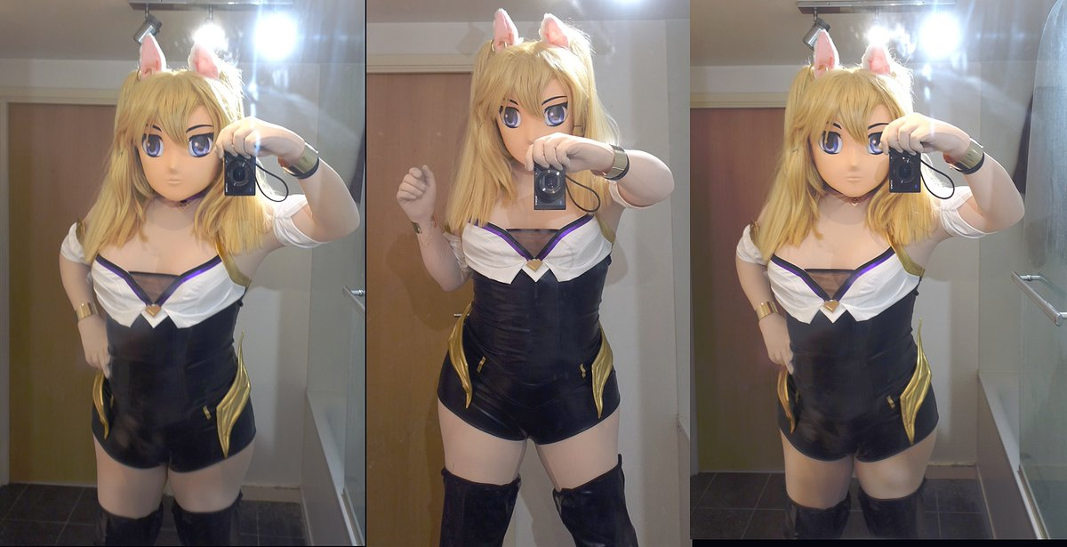 Another WIP cosplay, this time Ahri from LOL in her K/Da guise. Its a bought costume that fortunately only needs a little modification. to work I have to make a tail now now though. <br>http://pic.twitter.com/eonnciewtv