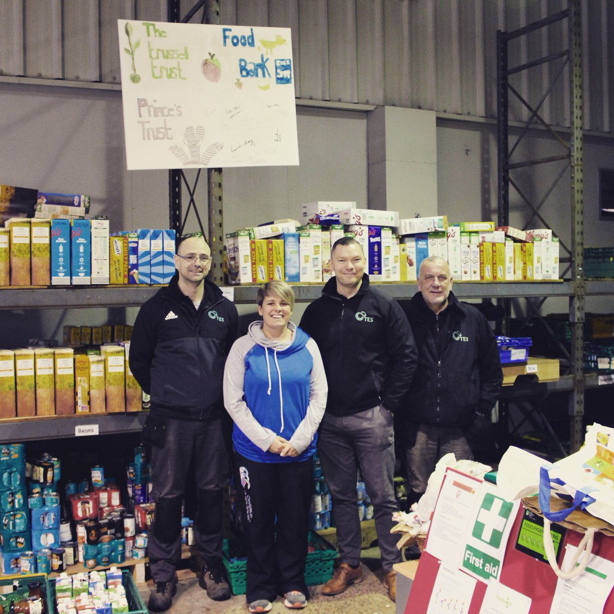 test Twitter Media - TES have today delivered a van load of donations to the Magherafelt Food Bank Christmas Appeal operated by @TrussellTrust. We are delighted to be able to support the fantastic work of Hope Magherafelt and Magherafelt Foodbank at such an important time of year. https://t.co/hDVaUw9Ix7