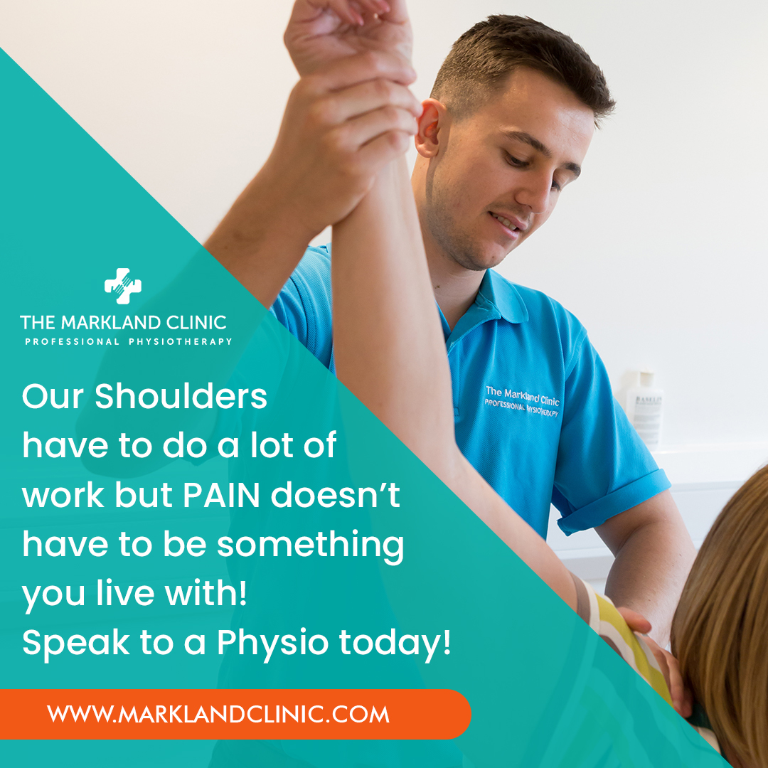 Getting pain in your shoulder? Is it starting to restrict your movement or comfort sleeping?  Click here    We're here to help! You can also call us on on 01285 654059   #marklandclinic #pain #physio #shoulder #painfree #physiotherapy #physiotherapist  ...