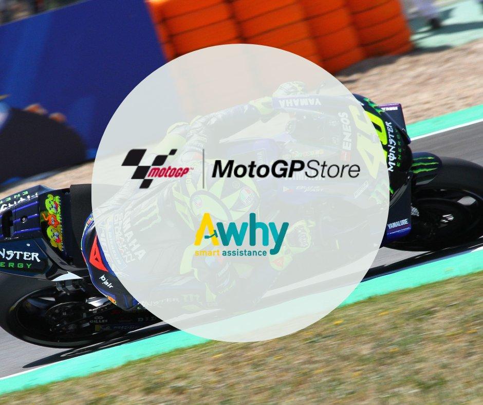 Buon Venerdì a tutti!  Da oggi anche il sito ufficiale del MotoGP si affida ad Awhy. Siamo felici e ringraziamo per la fiducia dimostrata verso la nostra tecnologia #Awhy #Chatbot #CustomerCare Per i più curiosi, ecco il link ⬇️  https://t.co/PFQi698koK https://t.co/l9cWCbLF53