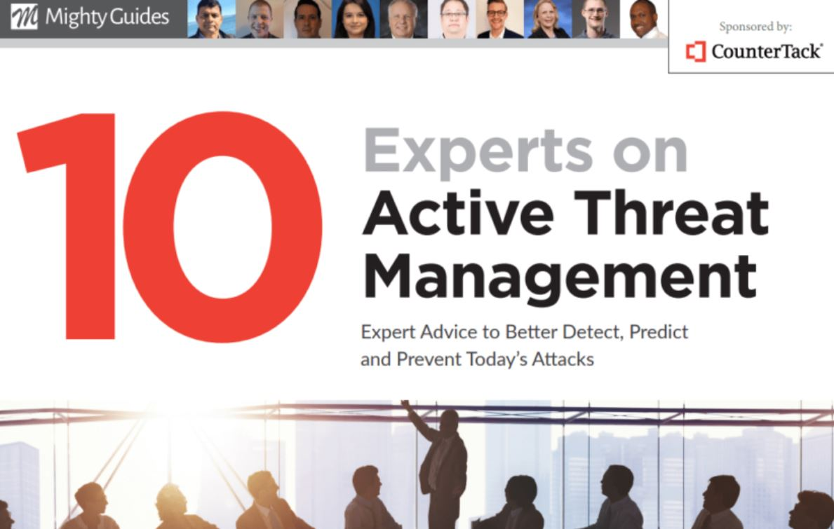 10 Experts on Active Threat Management: Expert Advice to Better Detect, Predict and Prevent Today's Attacks. Learn valuable lessons from #cybersecurity experts. @countertackhttps://mightyguides.com/countertack-10-experts-on-active-threat-management/…