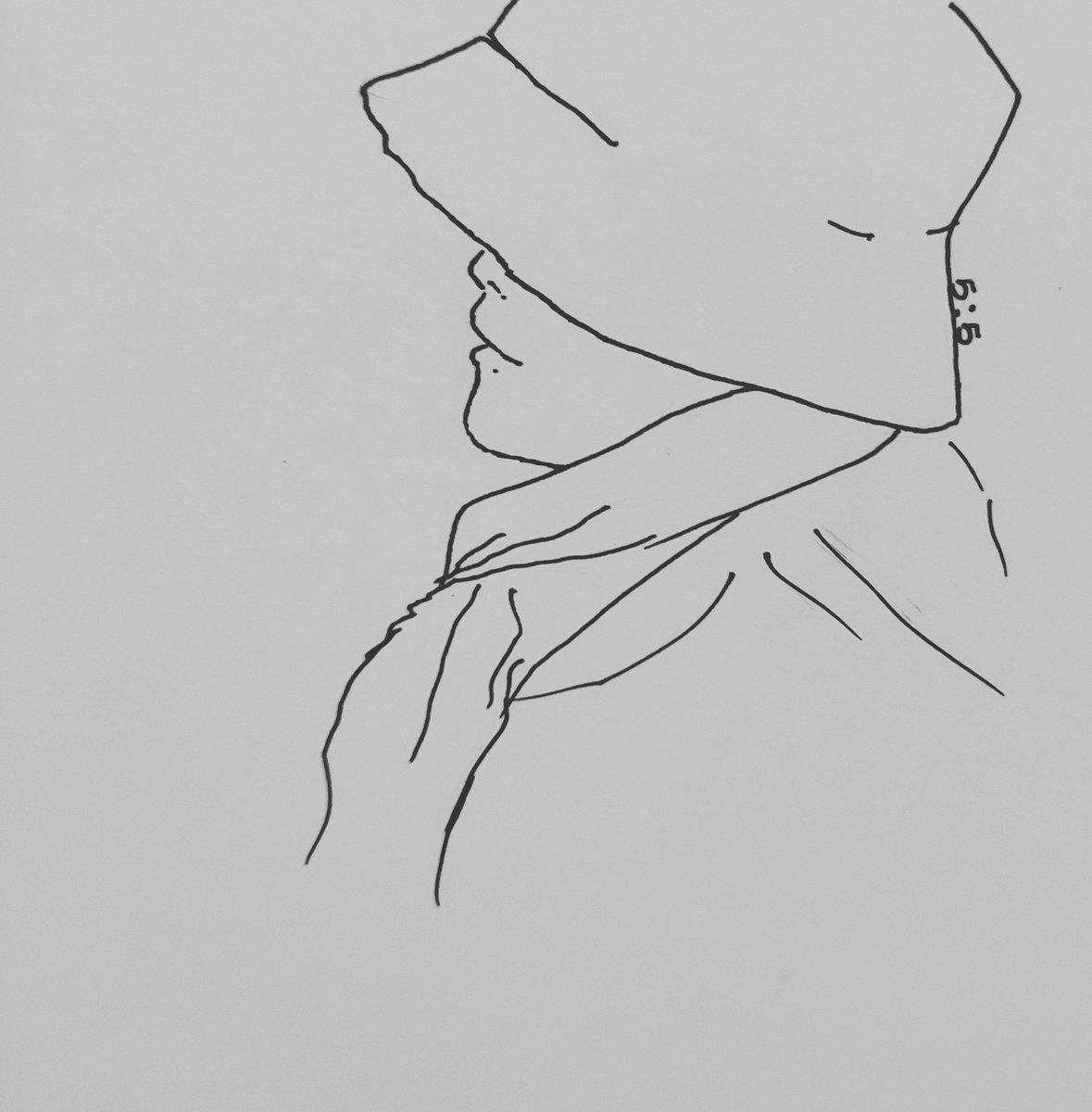 I was stuck in the rut... #longtimenosee #sketch #drawing #illusion #fanart #NamTaeHyun #남태현 #SouthClub #kpop