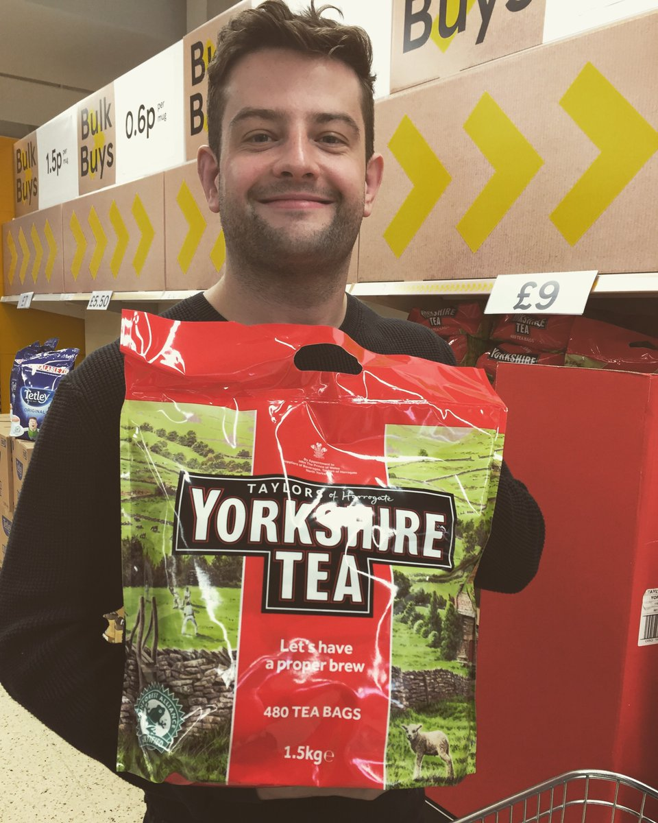 It's gonna be a messy weekend #tea #yorkshire #actorlife <br>http://pic.twitter.com/dbqH2xEtcH