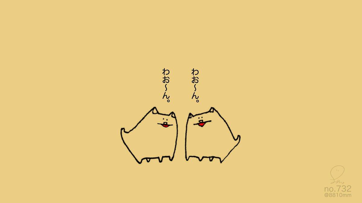 no.732 『 犬の近吠え。』