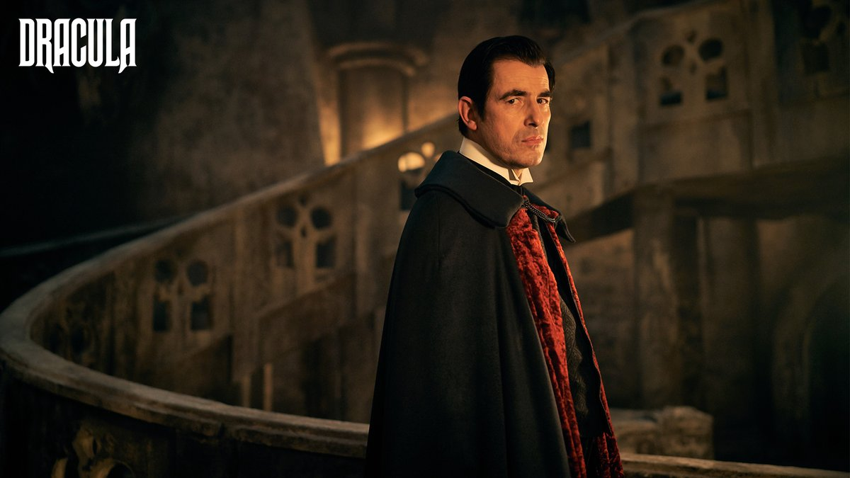 Scare you later. #Dracula starts on New Year's Day.