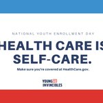 Image for the Tweet beginning: It's National Youth Enrollment Day!