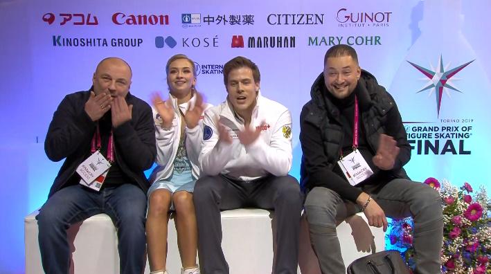 ISU Grand Prix of Figure Skating Final (Senior & Junior). Dec 05 - Dec 08, 2019.  Torino /ITA  - Страница 17 ELH2u32XUAIe3On?format=jpg&name=900x900