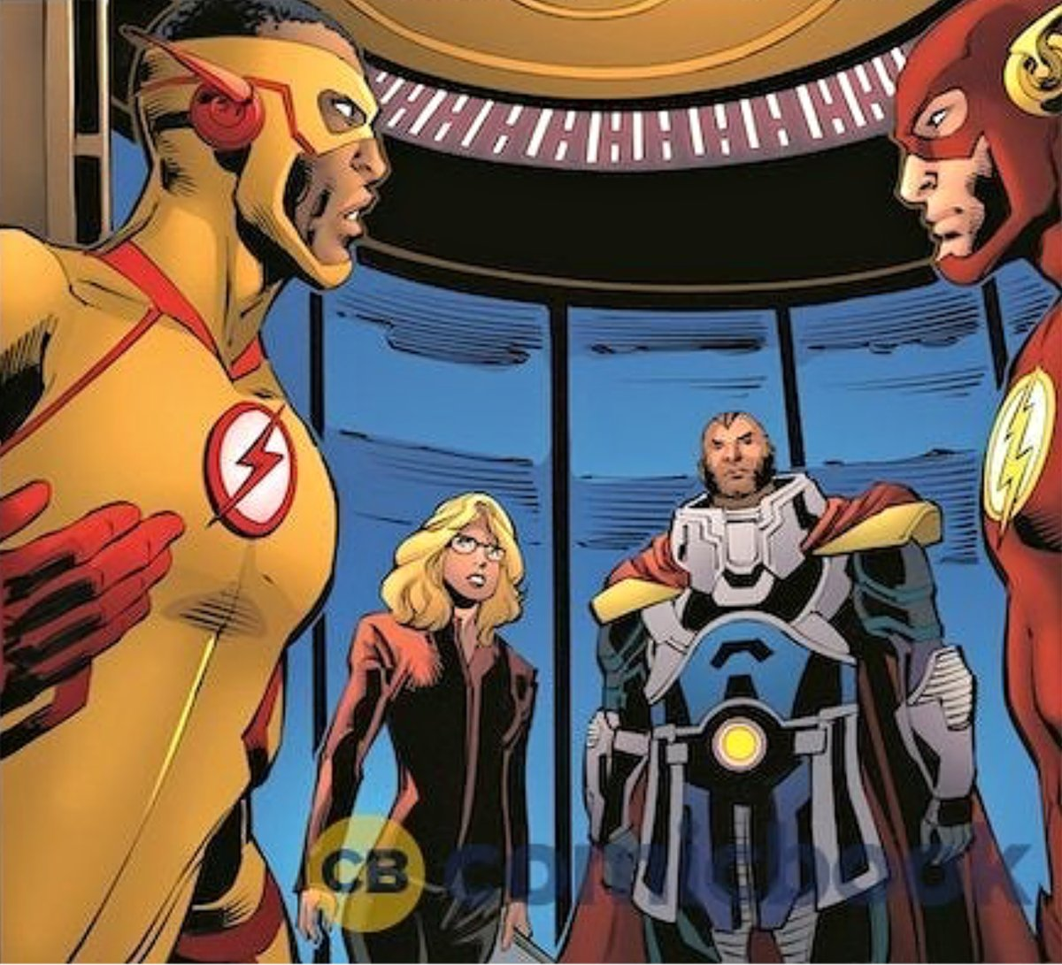 Felicity Smoak & Kid Flash aren't in the big crossover #CrisisonInfiniteEarths. But they are in the comic book tie-ins: (http://hollywoodnorth.buzz/2019/12/crossover-felicity-smoak-wally-west-nyssa-al-ghul-the-ray-in-new-crisis-on-infinite-earths-comic-books.html …) #Arrow #TheFlash 📷Comic Book image.