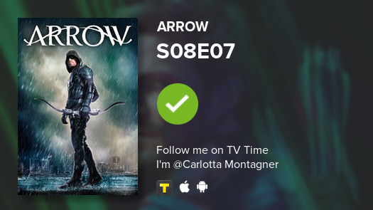 I've just watched episode S08E07 of Arrow! #Arrow  #tvtime https://tvtime.com/r/1eI04