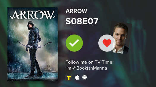I've just watched episode S08E07 of Arrow! #Arrow  #tvtime https://tvtime.com/r/1eI09