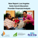 Image for the Tweet beginning: New report from @nff_news @First5LA