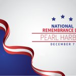 Today we remember and honor the 2,403 service members and civilians who were killed during the Japanese attack on #PearlHarbor on December 7, 1941. Find commemoration events near you from @NatlParkService: https://t.co/5Rprdgi1hY