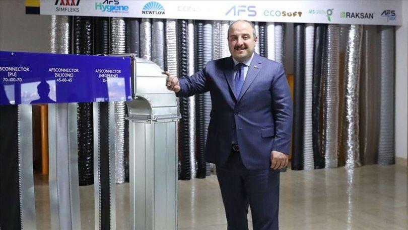 Sanayi ve Teknoloji Bakanı Mustafa Varank AFS Fabrikası'nı Ziyaret Etti  https://www.enerjivetesisat.com/tesisat/hvac/6940-sanayi-ve-teknoloji-bakani-mustafa-varank-afs-fabrikasi-ni-ziyaret-etti  … @afsflex   #iklimlendirme
