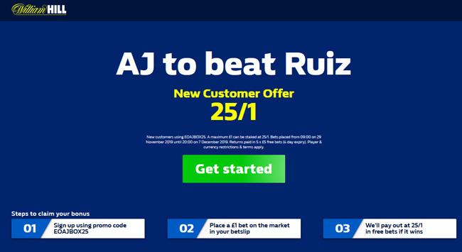 🥊 WHAT A PRICE 🥊Get 25/1 Anthony Joshua to beat Andy Ruiz Jr at William Hill!Retweet & Claim 📲https://www.betandskill.com/links/betting/william-hill-odds/…Max £1#AJ #Joshua #JoshuaRuiz2 #RuizJoshua2 #boxing #TeamAJ #Joshua #AnthonyJoshua #JoshuaRuiz #FridayFeeling #ClashOnTheDunes #FriyayT&Cs apply 18+