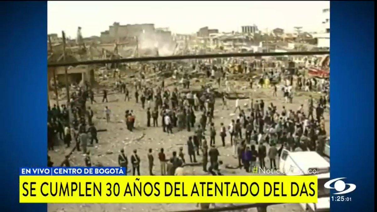 Se cumplen 30 años del atentado del DAS: testigos recuerdan lo ocurrido en este trágico hecho http://bit.ly/2MKLs3X