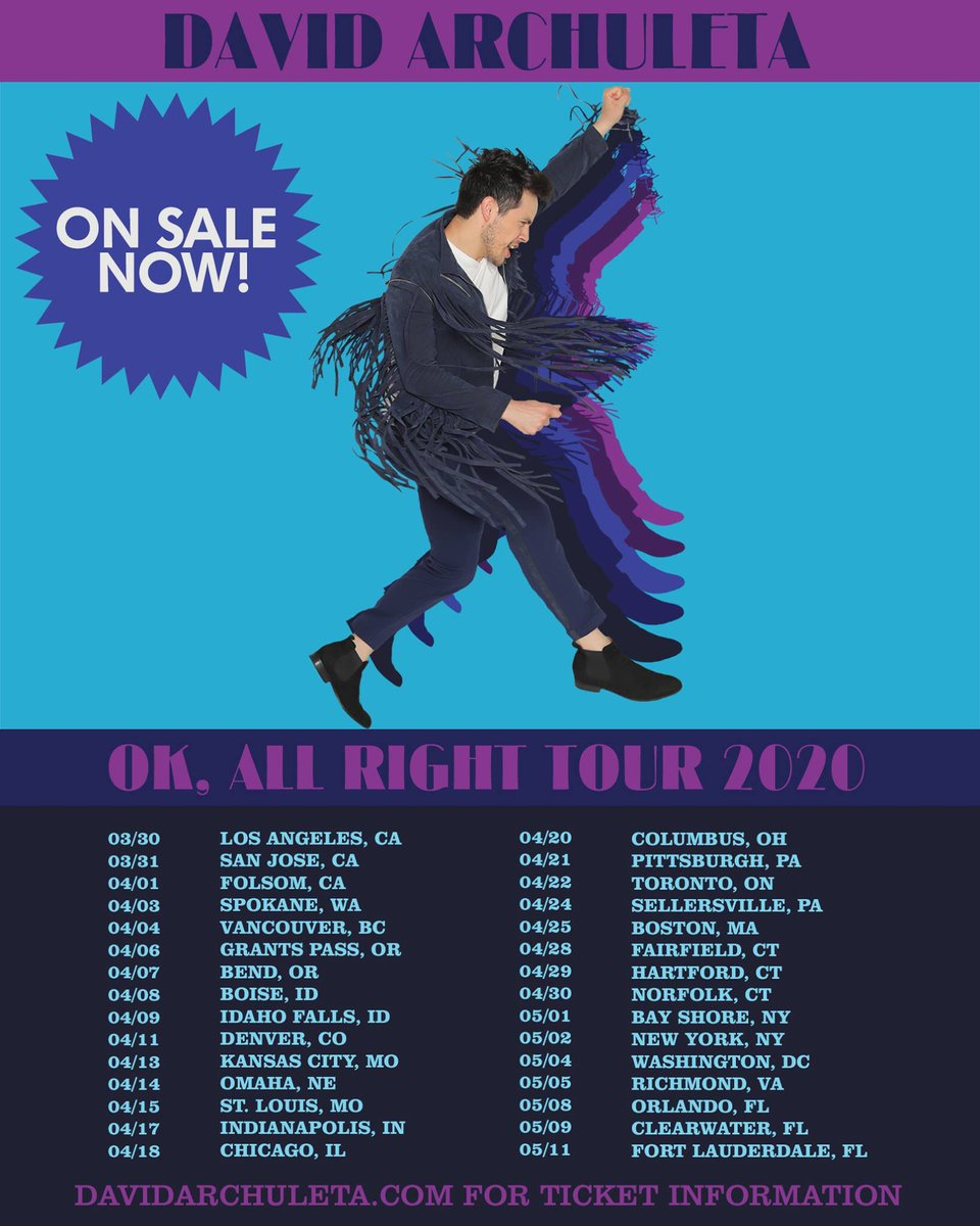 @DavidArchie's photo on ON SALE NOW
