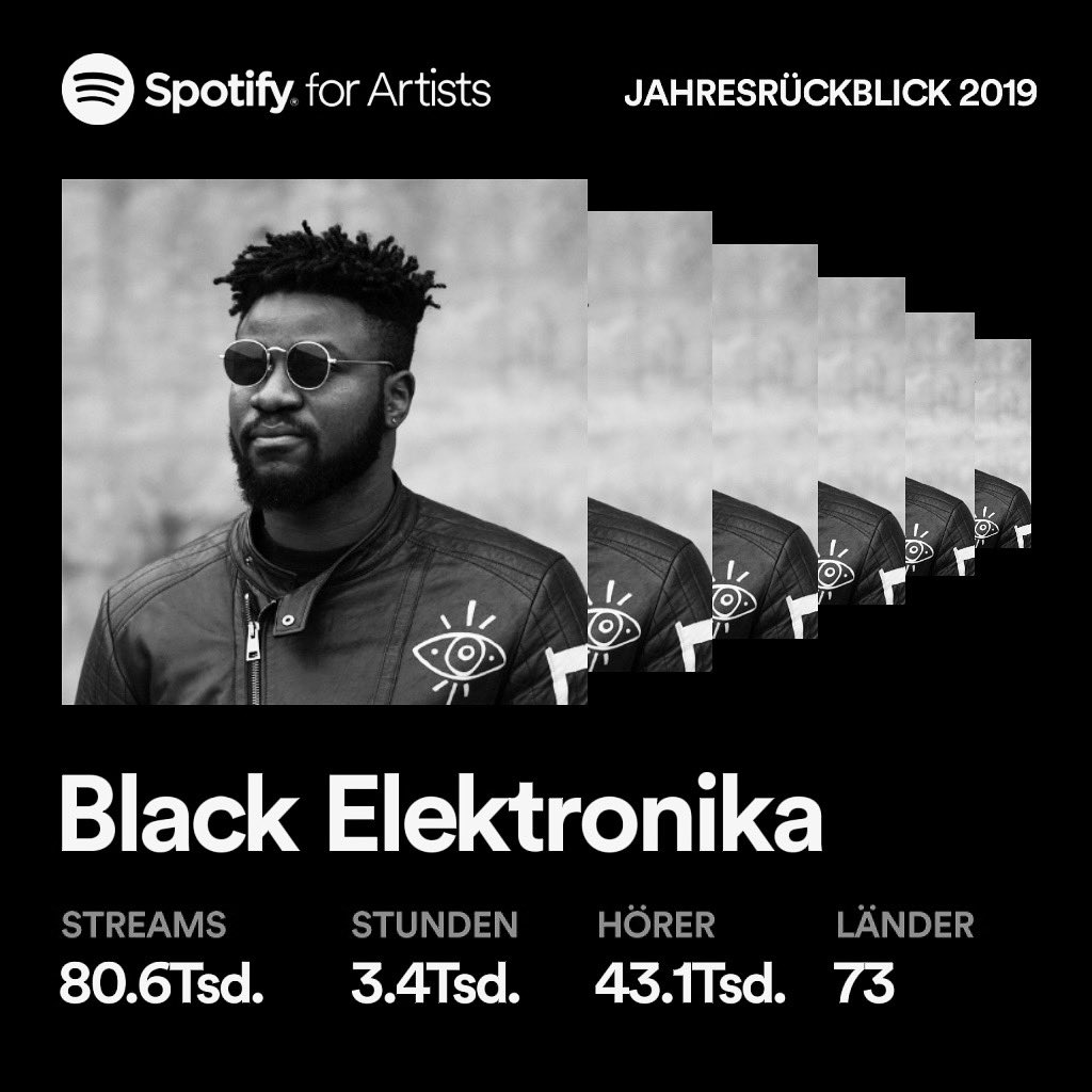 My Sincere thanks and Gratitude to everyone of my supporters! ::#spotifywrapped2019 #spotify🎧#producerlife #musicartist #berlino #berlinartist #milan #nyc #california #lagosnigeria #thankful #technoartist #technolovers #techno #tidal