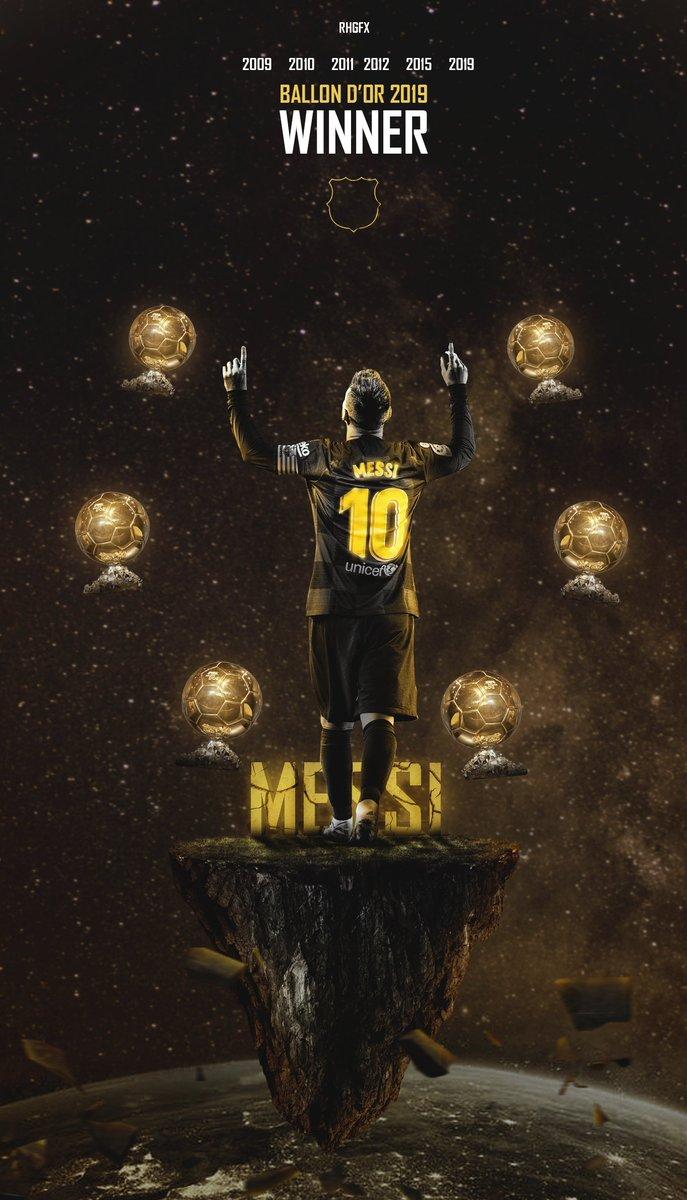 Beautiful Messi Ballon Dor 2019 Photos Wallpaper Images