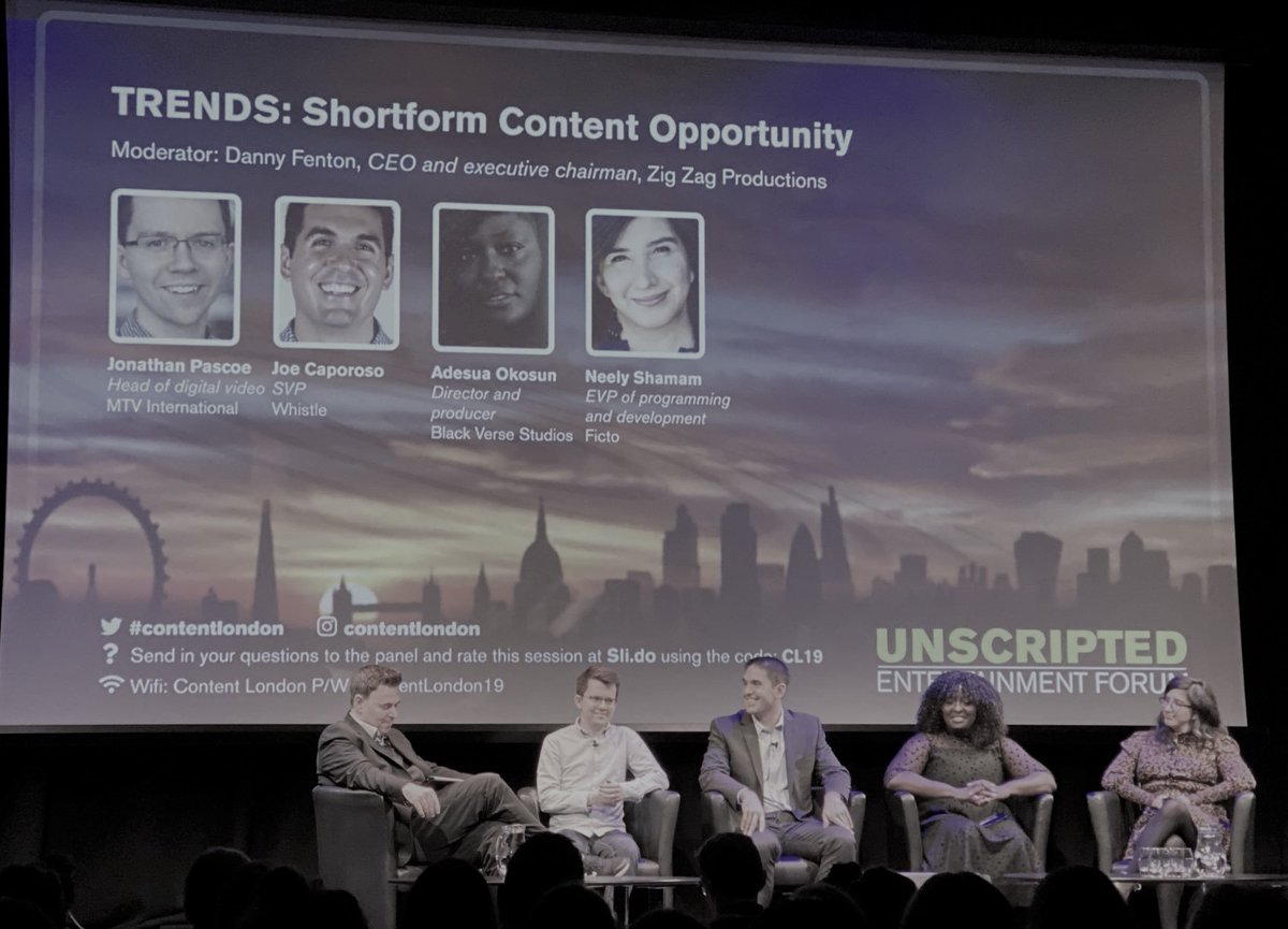 #Shorts present a unique opportunity to develop cost-effective content that serves as proof of concept and de-risks traditional content and talent development pipelines.  The shortform revolution is providing a training ground for a new generation of talent. #ContentLondon #filmpic.twitter.com/bsGGQs8cRA