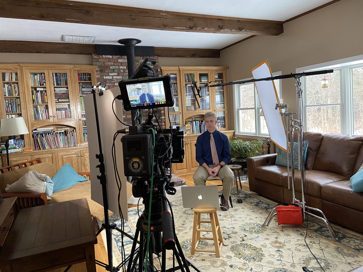 On location in NH with @balancedteacher recording for his new Learning Path on motivation!