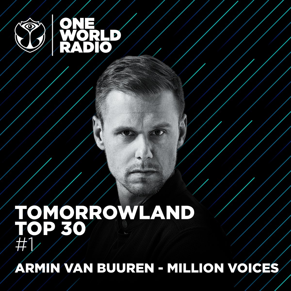 Million Voices #1 One World Radio @tomorrowland Top 30, thank you!! #millionvoices