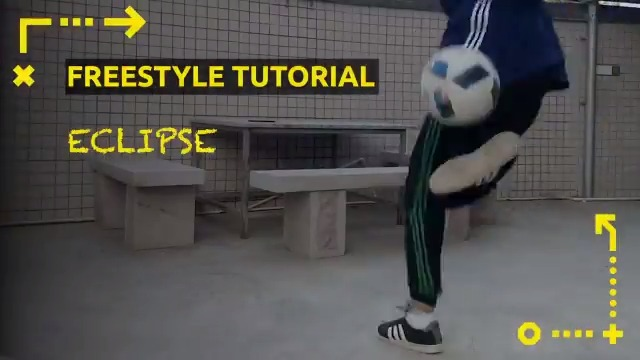 Freestyler and #FanMovement member Chen talks you through the three steps needed to master the Eclipse trick 🌒⚽️ Can you do it too? 🤔 #WeLiveFootball | #FreestyleFootball