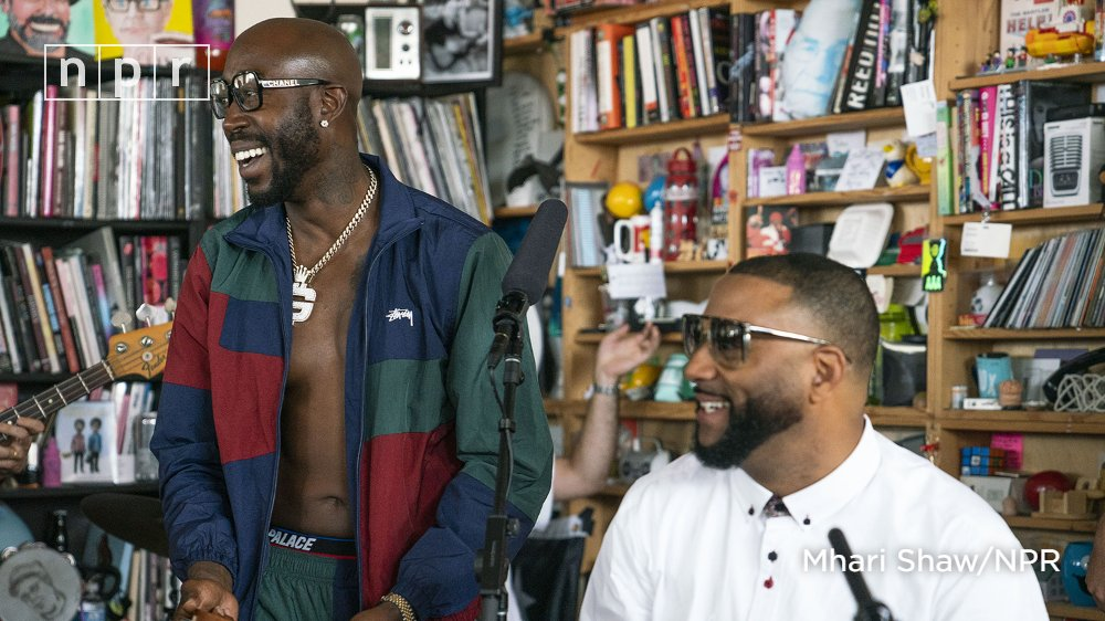 Nearly a year in the making, watch @FreddieGibbs and @madlib team up at the Tiny Desk with El Michels Affair. n.pr/2Ltl9B7