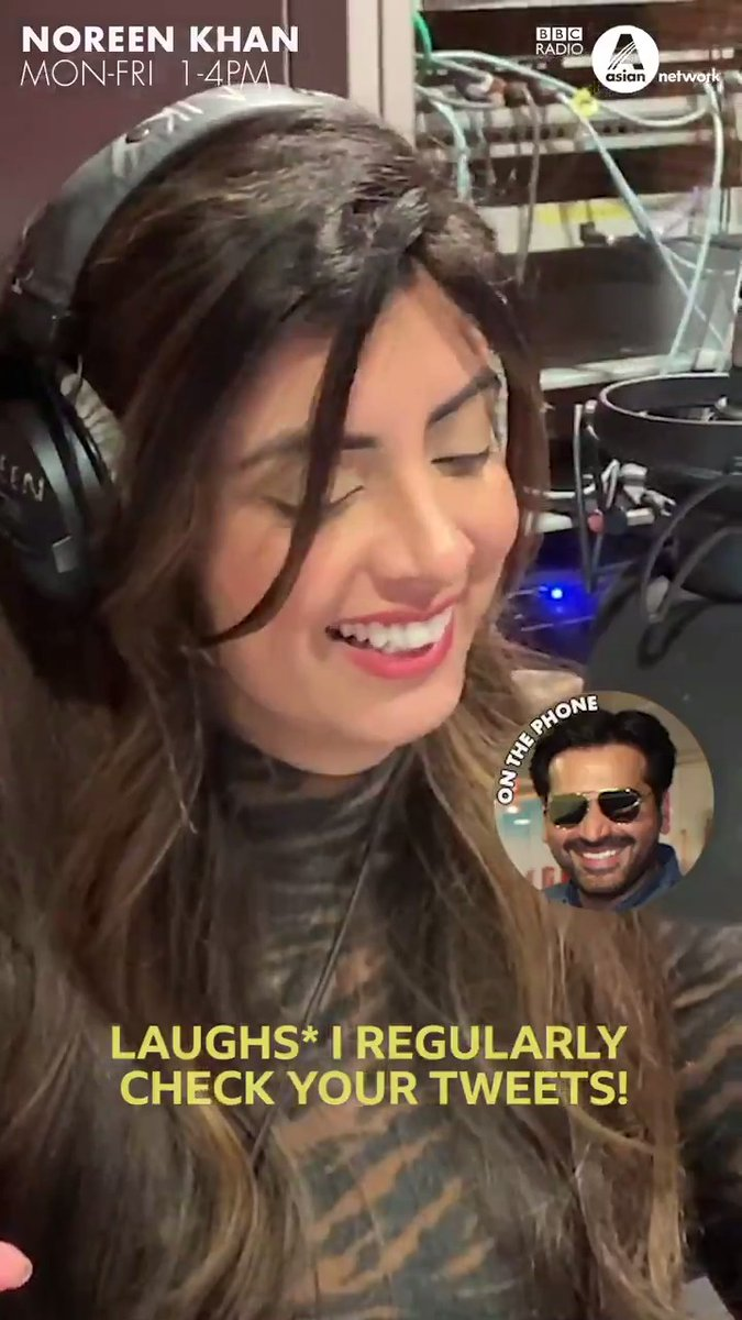 Who loves #MerayPaasTumHo 📺 as much as @DJNoreenKhan? @iamhumayunsaeed joined her on the show to talk about those omelettes 🥚 and *that* slap scene 👋🏽