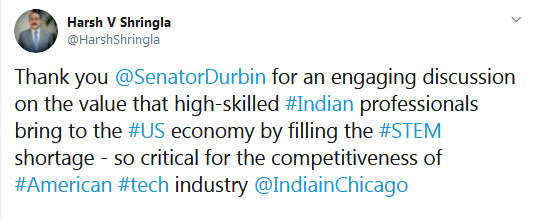 This shows the low IQ of Indians  This idiot is pushing the same BS India-first agenda that Indian-lobbyist Immivoice has tried. They failed miserably, but now this joker is pushing the same thing, expecting different results!  No #S386  End #OPT #H4EAD #H1B  #MAGA #KAG2020<br>http://pic.twitter.com/nZvvMMDR92