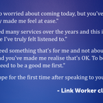 Image for the Tweet beginning: Our Community Link Workers, in