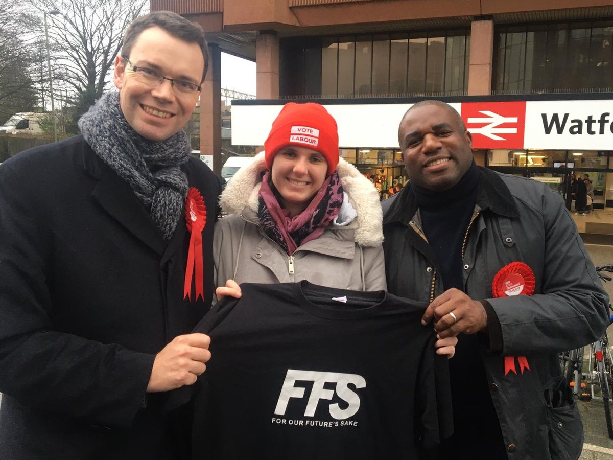 #FFS joined @DavidLammy in #Watford today to campaign for @Chris4Watford! We can flip Watford and deliver a #FinalSay Parliament ✊ ➡️ Campaign with us this weekend: facebook.com/Forourfuturess… ➡️ Cant make it? Help mobilise young people in key swing seats: crowdfunder.co.uk/ffsgefund