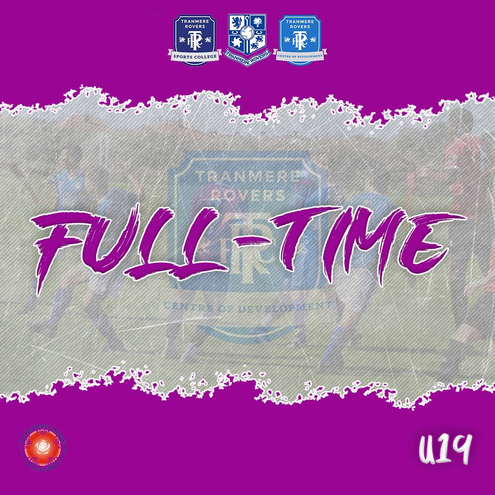 Full-Time | A superb result for the U19's as they win by five goals to one away at Warrington Town/Robbie Fowler Academy  5-1  #TRFC #SWA<br>http://pic.twitter.com/IP11yEtBa0