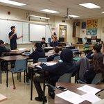 Image for the Tweet beginning: Debates in Computer Science class
