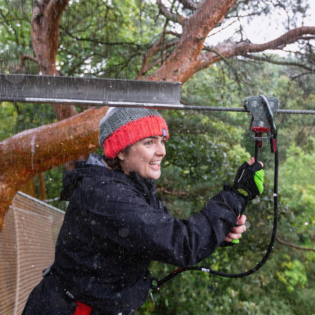 Did you know that Go Ape adventures are the perfect wet weather activity? The forest is an exciting place to be in the rain and our courses are even more exhilarating! book here:  #GoApe #LiveLifeAdventurously  #Feel50ftTall #Winter #WetWeatherActivity