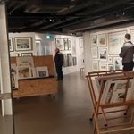 The new gallery @RhegedCentre is looking fantastic and some wonderful prints on display. Well done to all involved @cubbylimited @minigbh JJ Group #exhibition #Cumbria