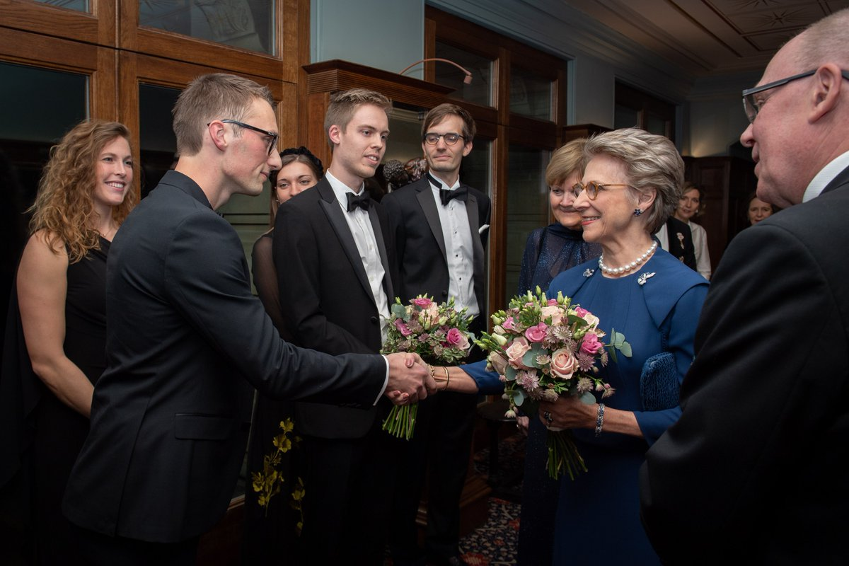 This week, The Duchess of Gloucester helped the Anglo-Danish Society celebrate 60 years of their charitable scholarship programme. The Duchess, who was born in Denmark, is the programmes Protector.