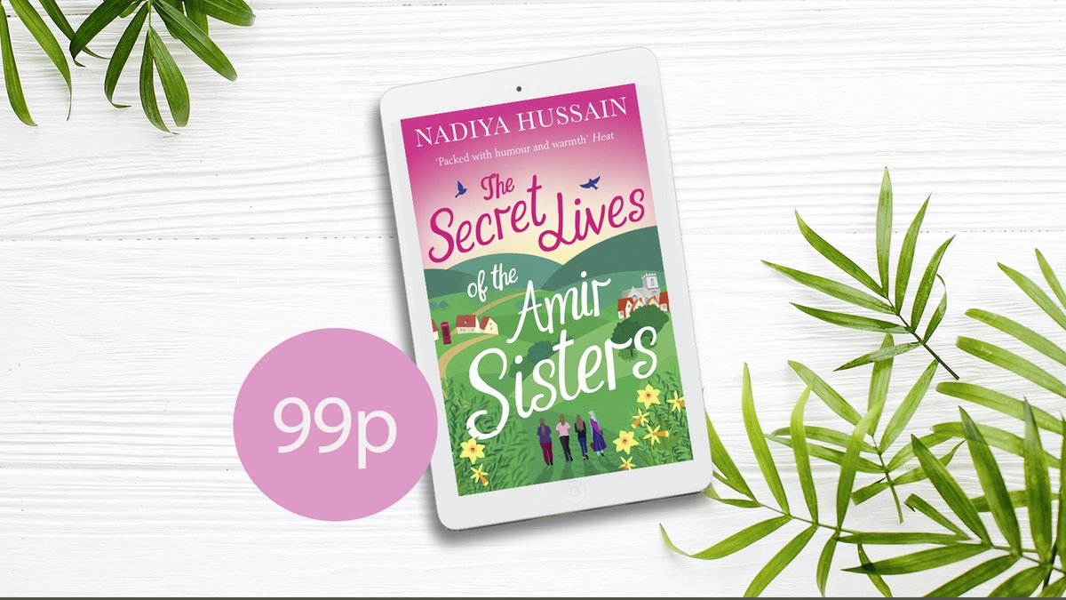 Readers have fallen for the Amir sisters. A fun and heartwarming read ⭐⭐⭐⭐⭐ Brilliant ⭐⭐⭐⭐⭐ Discover Nadiya Begums (@BegumNadiya) heartwarming tale #TheSecretLivesOfTheAmirSisters Only 99p for a limited time. po.st/SecretAmirSist…